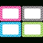 Chevron Name Tags/labels   Multi Pack   Tcr5526 | Teacher Created   Free Printable Name Tags For Teachers