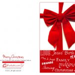 Chirstmas Cards   Download Free Greeting Cards And E Cards   Free Printable Quarter Fold Christmas Cards