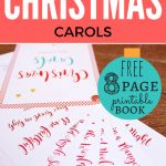 Christ Centered Christmas Carols: Free Printable   Free Printable Christmas Carols Booklet