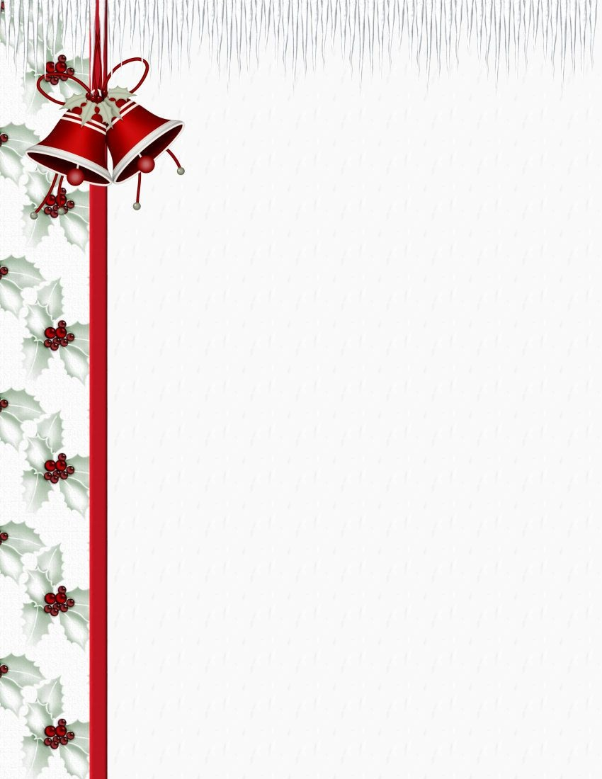 Christmas 3 Free-Stationery Template Downloads | Stationary - Free Printable Christmas Stationary