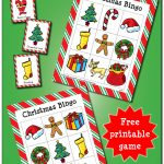 Christmas Bingo Game {Free Printable}   Gift Of Curiosity   Free Christmas Bingo Game Printable