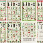 Christmas Bingo Game   Simply Fresh Designs   Free Christmas Bingo Game Printable