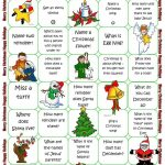 Christmas Board Game Worksheet   Free Esl Printable Worksheets Made   Free Holiday Games Printable