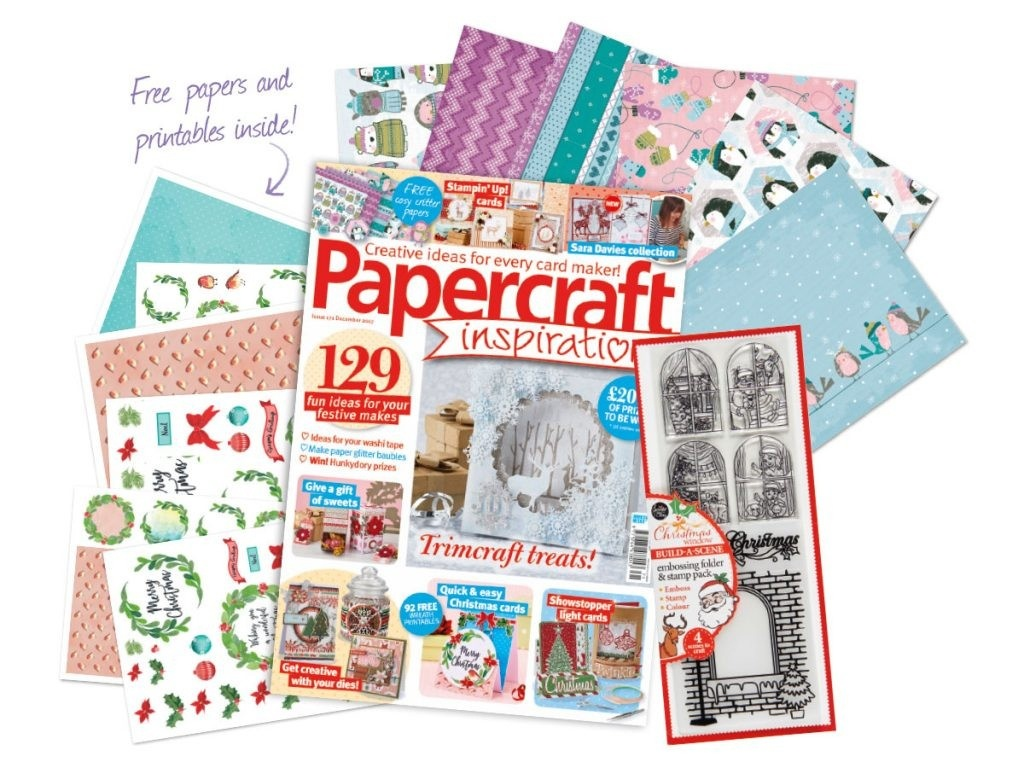 Christmas Card Ideas Archives Papercraft Inspirations 27 Inspired - Free Online Christmas Photo Card Maker Printable