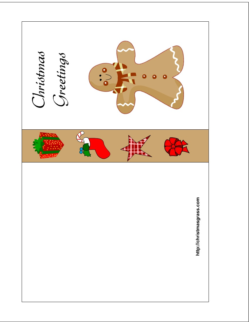Christmas Card Templates To Print - Tutlin.psstech.co - Free Printable Xmas Cards Online