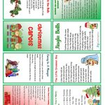Christmas Carols Minibook Worksheet   Free Esl Printable Worksheets   Free Printable Christmas Carols Booklet
