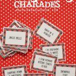 Christmas Charades Game And Free Printable Roundup!   A Girl And A   Free Printable Christmas Pictionary Words