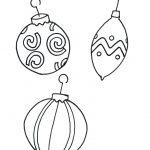 Christmas Coloring Sheets Printable Tag: 32 Remarkable Ornament   Free Printable Christmas Tree Ornaments Coloring Pages