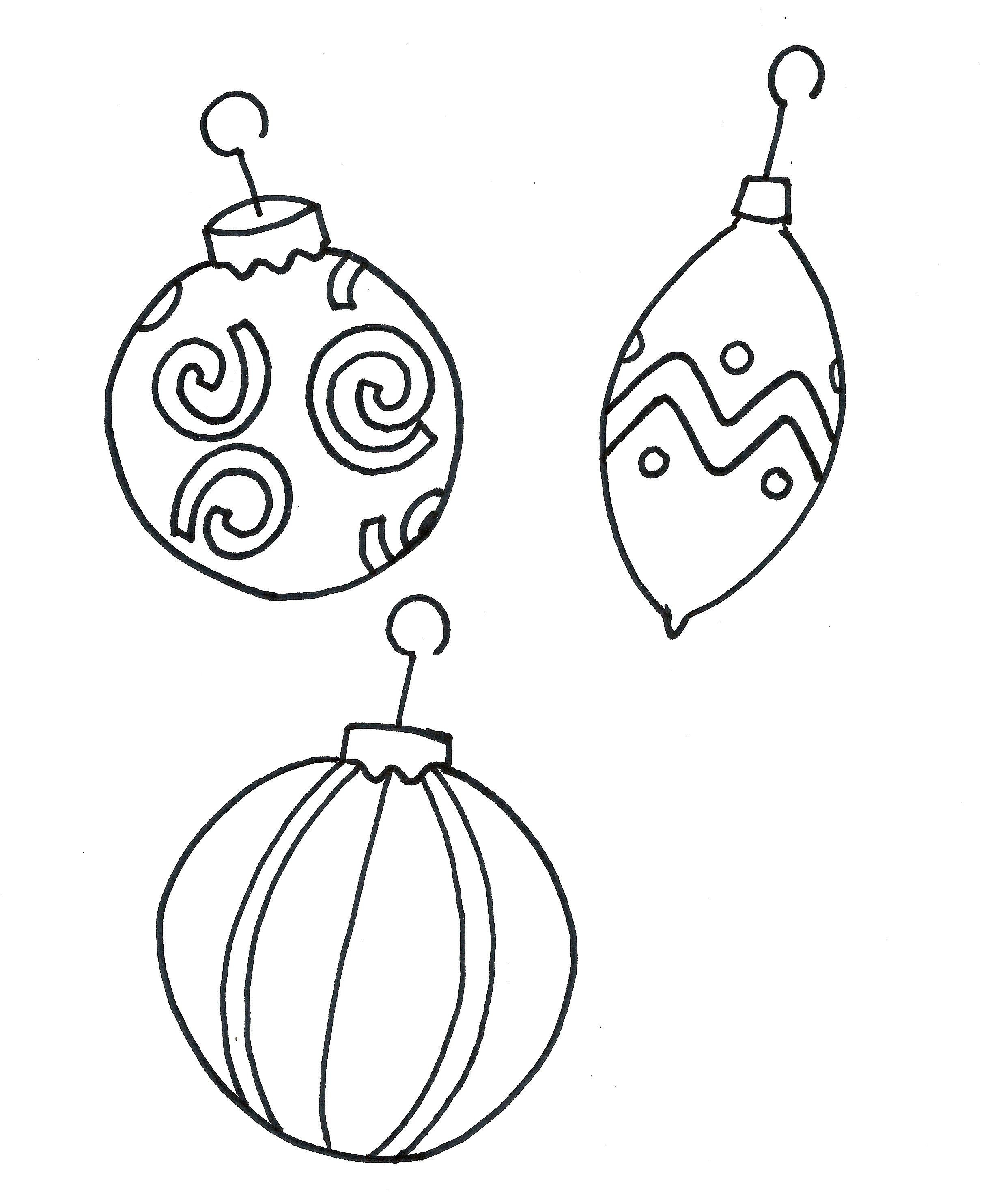 Christmas Coloring Sheets Printable Tag: 32 Remarkable Ornament - Free Printable Christmas Tree Ornaments Coloring Pages