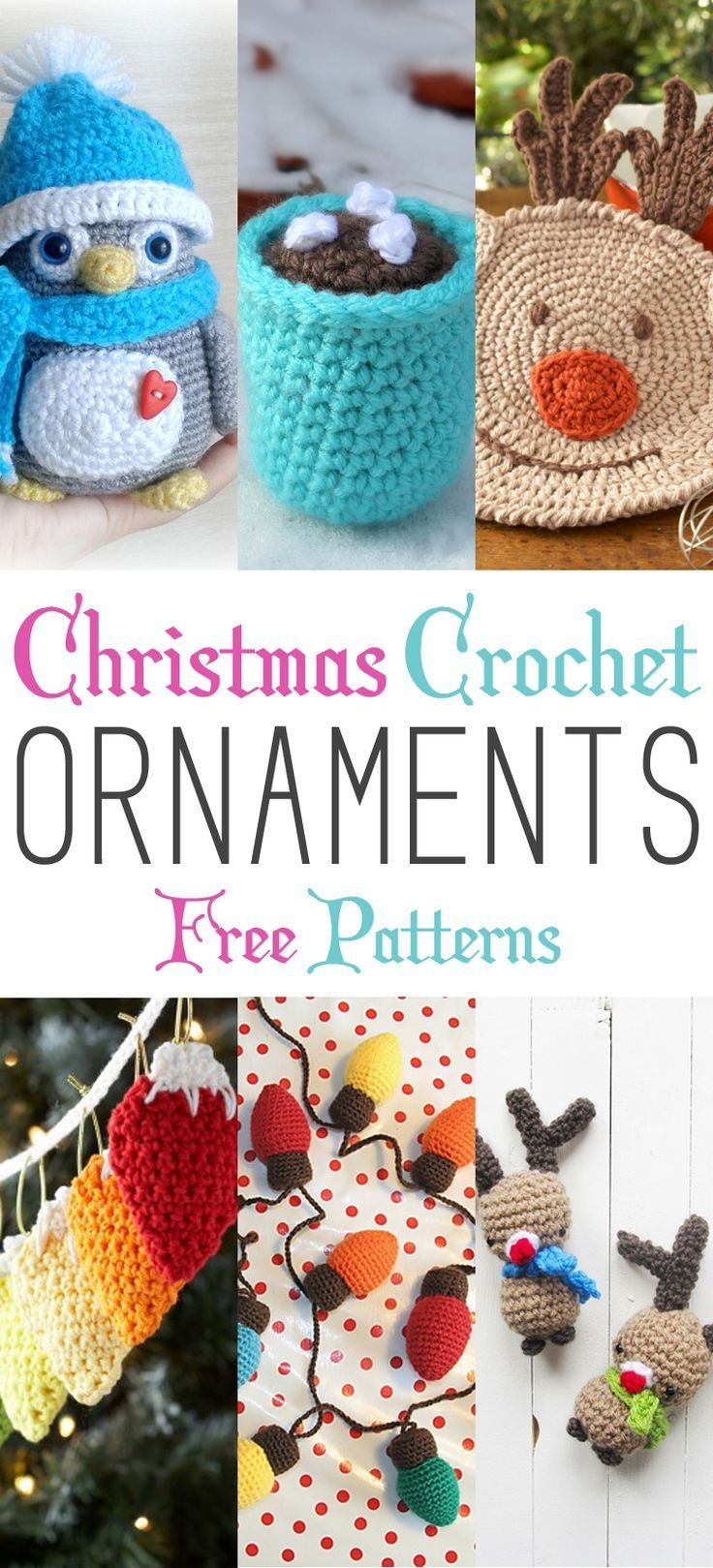 Christmas Crochet Ornaments With Free Patterns | Crochet Christmas - Free Printable Christmas Crochet Patterns