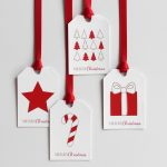 Christmas Diy Week 2/8: Paint Chip Gift Tags With Free Printable – A   Diy Christmas Gift Tags Free Printable