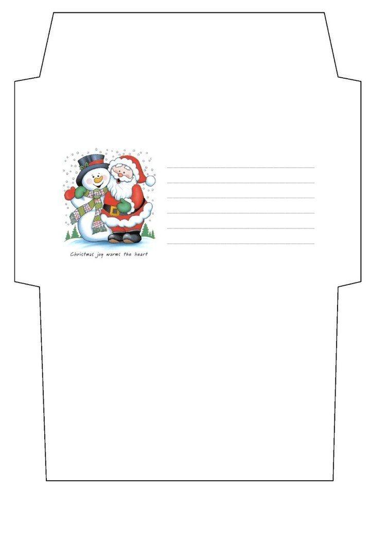 Christmas Envelope Templatecpchocccc | Free Printable Cutting - Christmas Money Wallets Free Printable