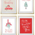Christmas Free Printable Wall Art   Download Free Christmas Art | F   Free Printable Christmas Party Signs