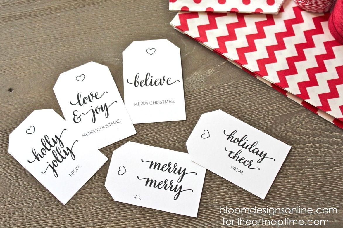 Christmas Gift Tags | Merry Christmas | Free Printable Christmas - Free Online Gift Tags Printable