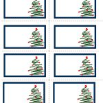 Christmas Labels Template   Demir.iso Consulting.co   Free Printable Christmas Return Address Label Template