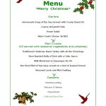 Christmas Menu Template   17 Free Templates In Pdf, Word, Excel Download   Free Printable Menu Templates Word