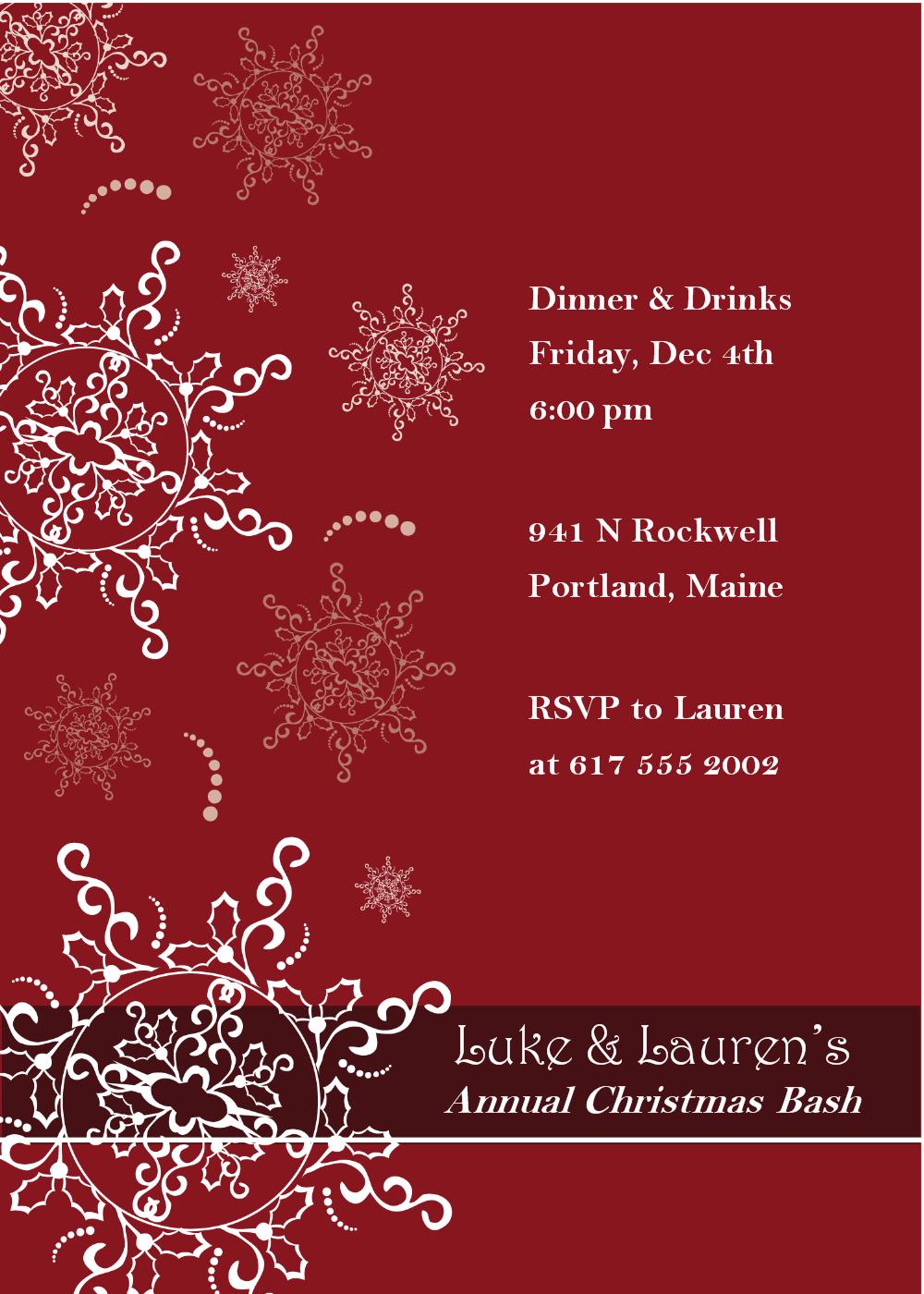 Christmas Party Invitation Templates - Bing Images   Christmas Card - Christmas Party Invitation Templates Free Printable