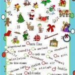 Christmas Pictionary | Christmas Party Games & Food | English   Free Printable Christmas Pictionary Words