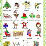 Christmas   Pictionary Worksheet   Free Esl Printable Worksheets   Free Printable Christmas Pictionary Words
