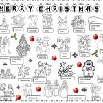 Christmas Pictionary Worksheet   Free Esl Printable Worksheets Made   Free Printable Christmas Pictionary Words