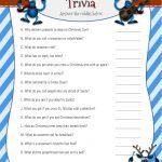 Christmas Riddles Trivia Game   2 Printable Versions With Answers   Free Printable Christmas Riddle Games