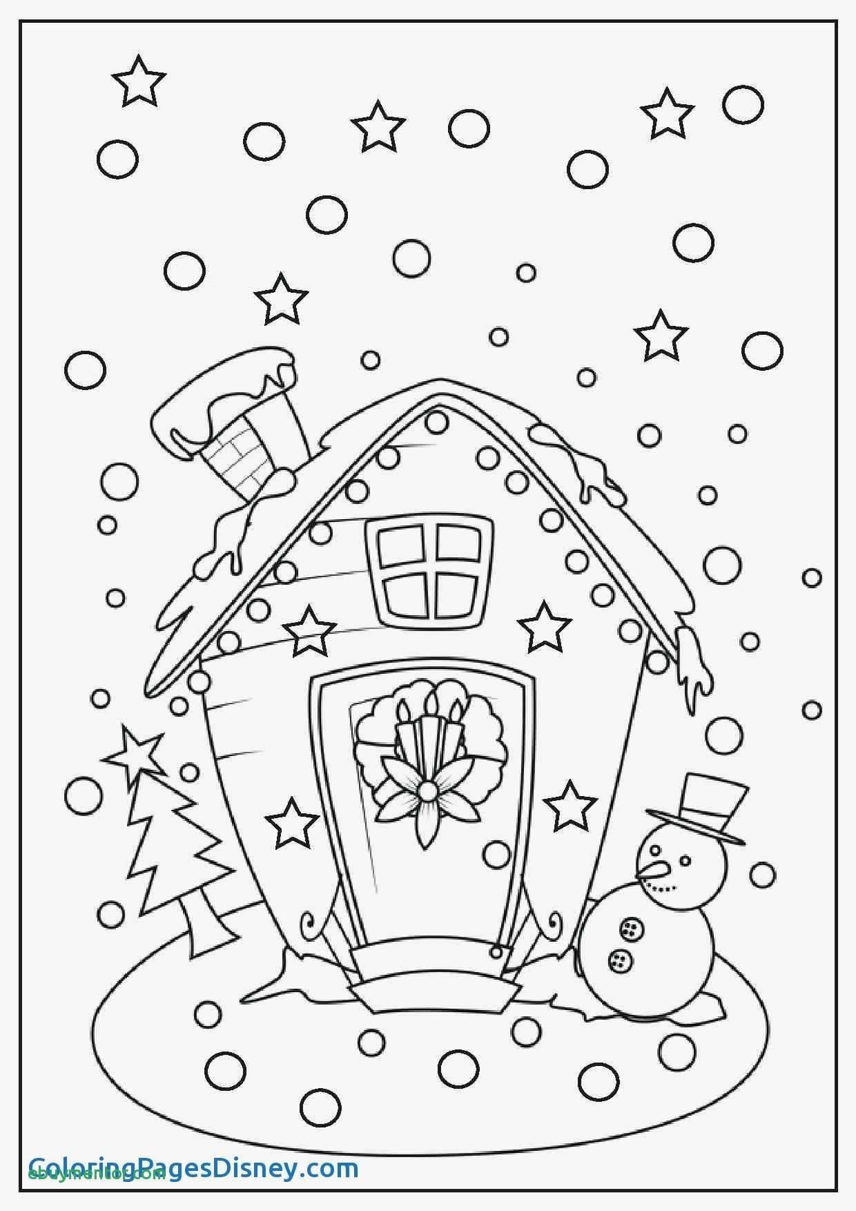 Christmas Room Colouring Card. Nativity Scene Christmas Tree Cards - Free Printable Christmas Cards To Color