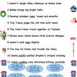 Christmas Tongue Twisters. Worksheet   Free Esl Printable Worksheets   Free Printable Tongue Twisters