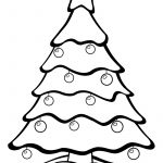 Christmas Tree With Ornaments | Print. Color. Fun! Free Printables   Free Printable Christmas Tree Ornaments Coloring Pages