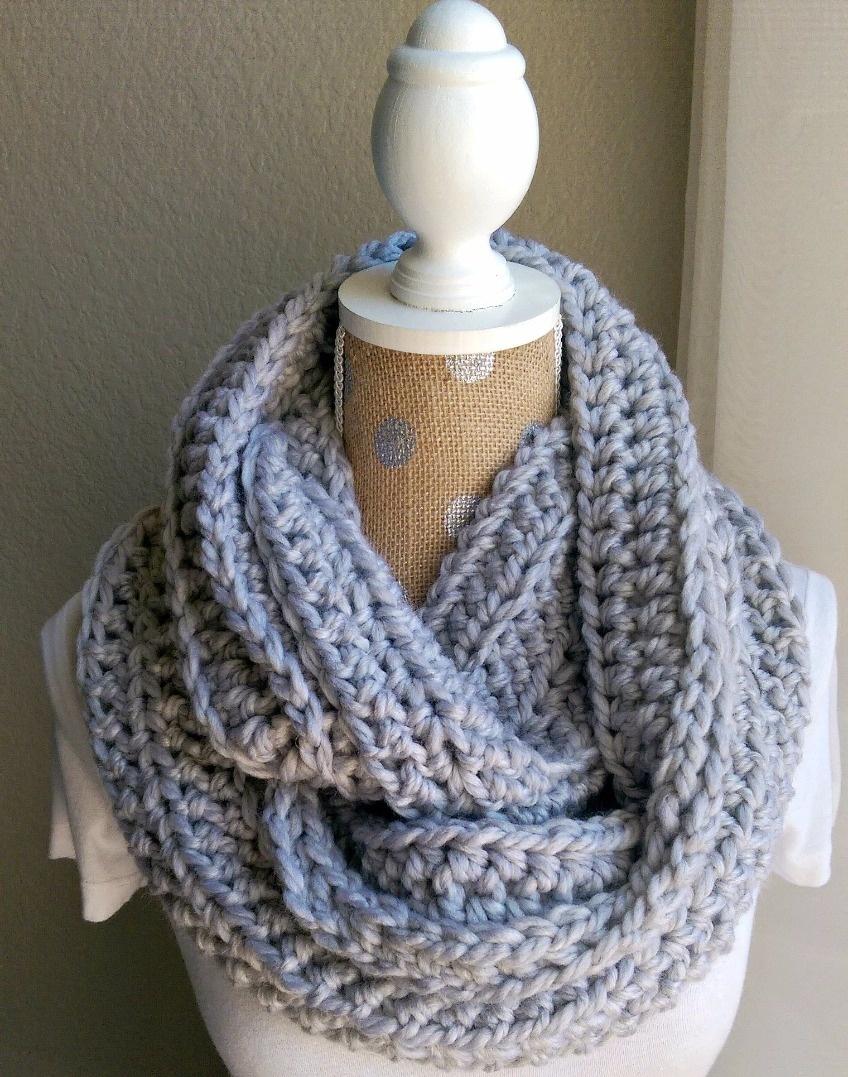 Chunky Crochet Scarf Pattern | The Snugglery | Knitting And - Free Printable Crochet Scarf Patterns