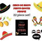 Cinco De Mayo Photo Booth Props – Orek   Free Printable Cinco De Mayo Photo Booth Props