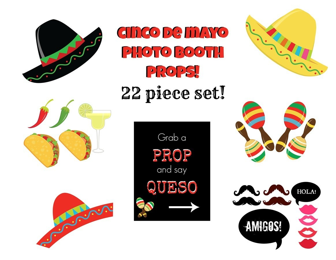 Cinco De Mayo Photo Booth Props – Orek - Free Printable Cinco De Mayo Photo Booth Props