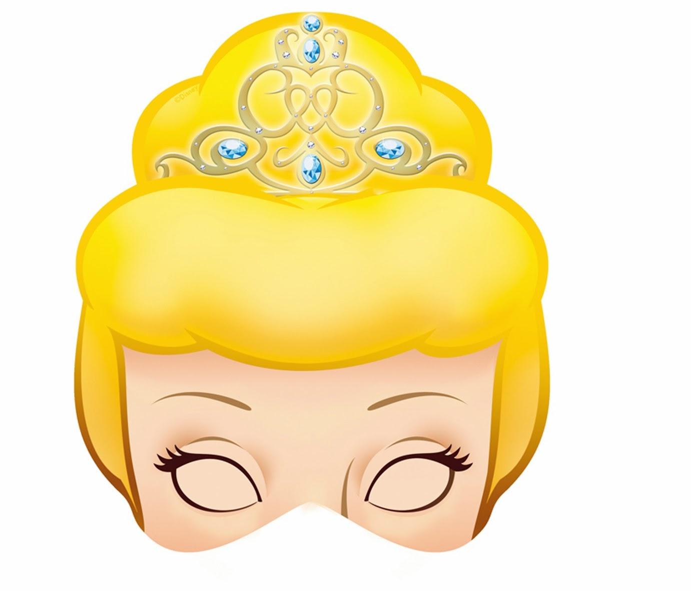 Cinderella Free Printable Masks. - Oh My Fiesta! In English - Free Printable Masks
