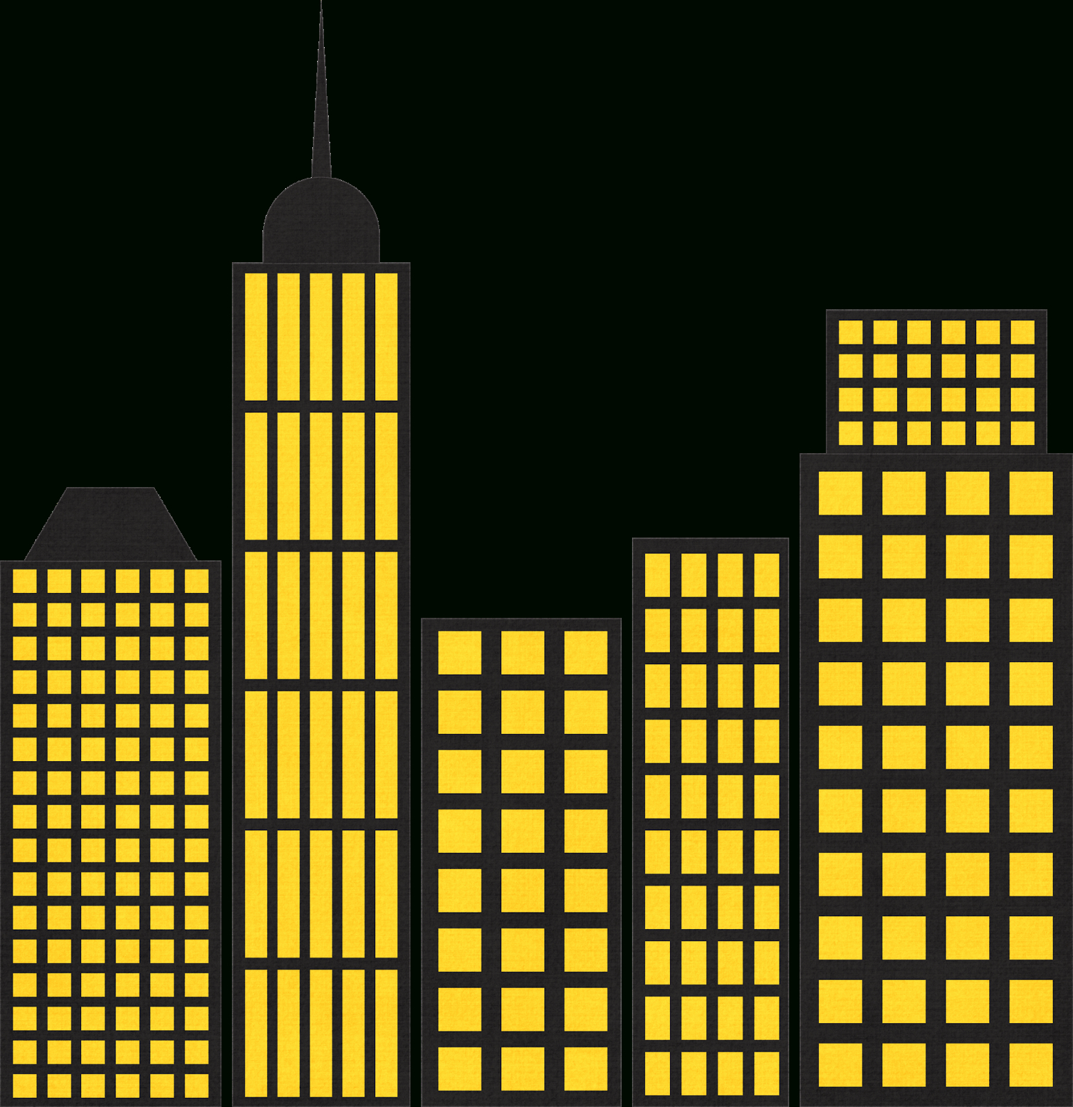 Cityscape - Free Printable Download For A Superhero Of Pj Masks - Free Printable Superhero Skyline