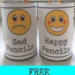 Classroom Management Idea: Free Printable Pencil Signs   Free Printable Classroom Signs And Labels