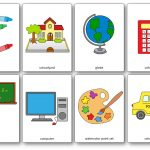 Classroom Objects Flashcards   Free Printable Flashcards   Speak And   Free Printable Flashcards For Toddlers