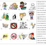 Classroom Rules Worksheet   Free Esl Printable Worksheets Made   Free Printable Classroom Rules Worksheets