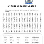Click To Download Dinosaurs Word Search | Birthday Party! | Free   Free Printable Dinosaur Word Search
