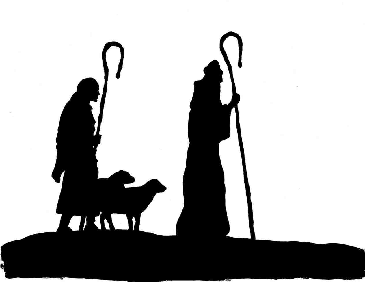 Collection Of Nativity Scene Clipart | Free Download Best Nativity - Free Printable Nativity Silhouette