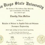 College Degree Template Free Beautiful Fake Diplomas & Certificates   Free Printable College Degrees