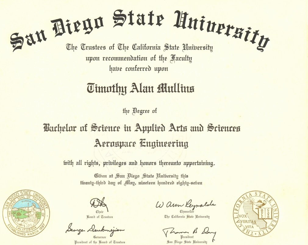 College Degree Template Free Beautiful Fake Diplomas & Certificates - Free Printable College Degrees