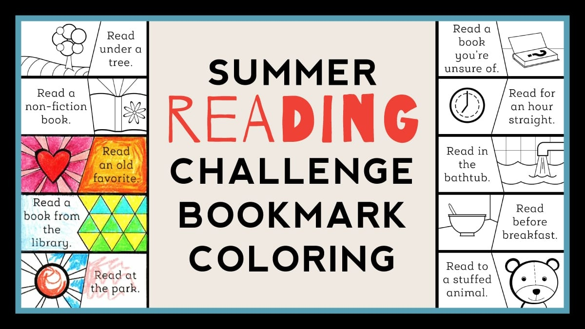 Color-As-You-Go Summer Reading Challenge - Weareteachers - Free Printable Reading Recovery Books