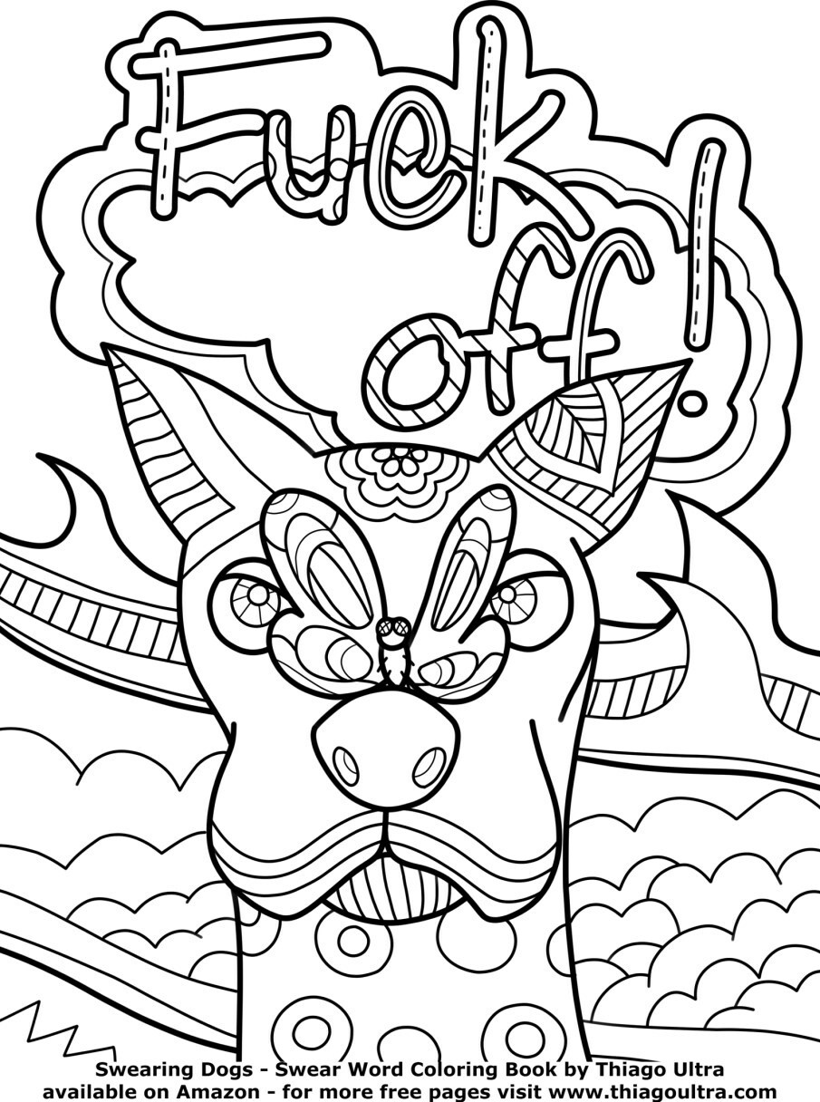 Coloring Book World ~ Beautiful Curse Word Coloring Pages Towtour - Free Printable Coloring Pages For Adults Swear Words