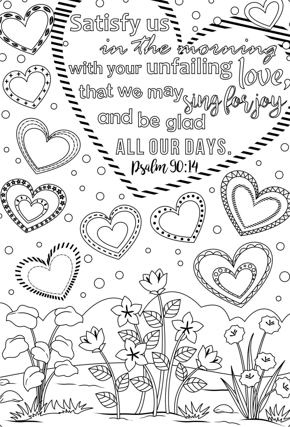 Coloring Book World ~ Bible Verse Coloring Pages For Adults Verses - Free Printable Bible Verses Adults