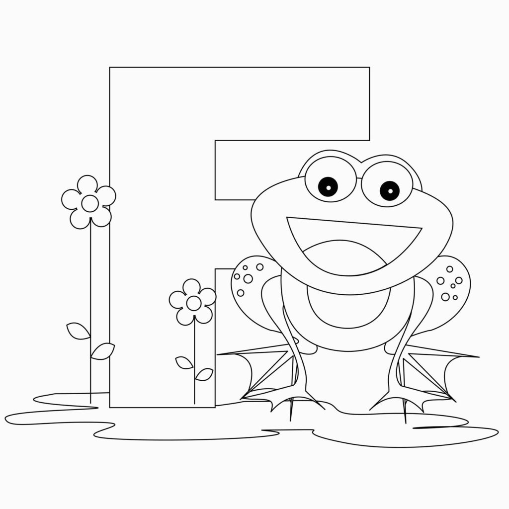 Coloring Book World ~ Free Coloring Pages With Animals Alphabet - Free Printable Animal Alphabet Letters