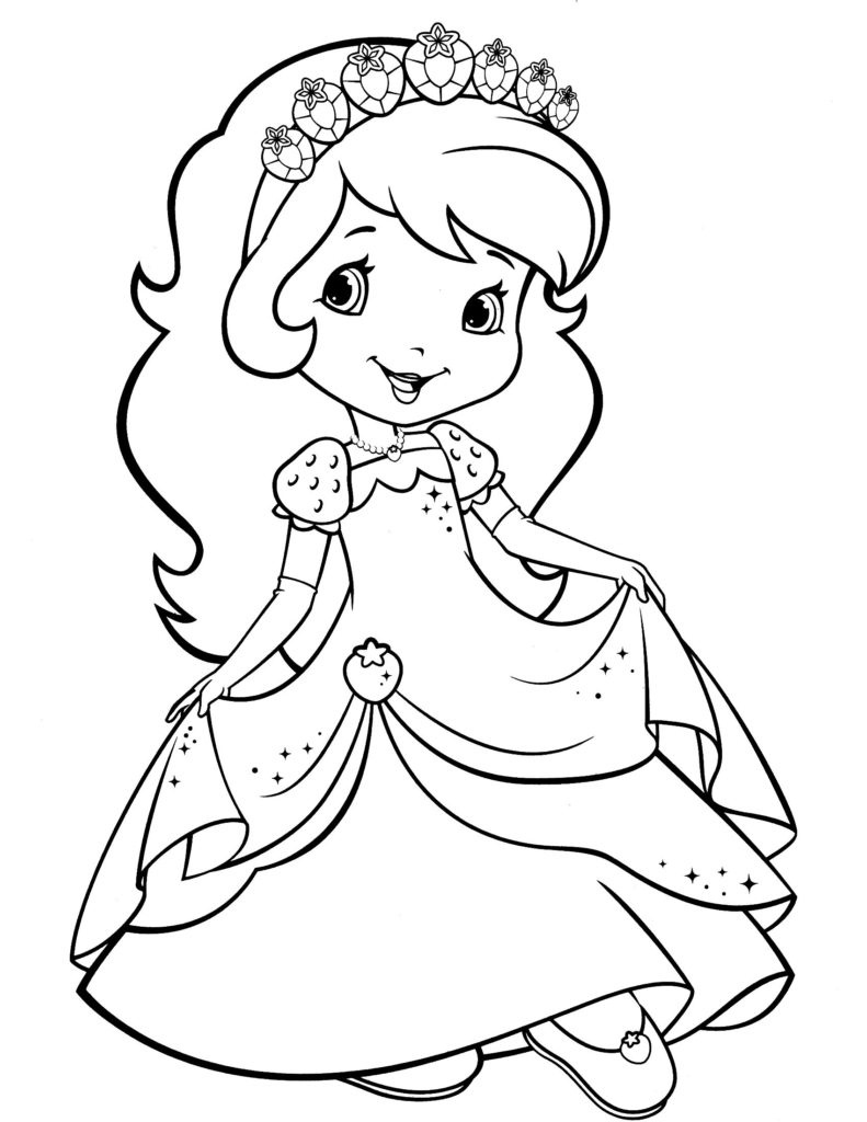 Coloring Book World ~ Strawberry Shortcake Coloring Book Staggering - Strawberry Shortcake Coloring Pages Free Printable