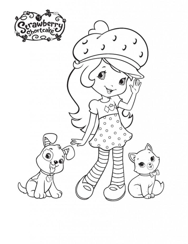Coloring Book World ~ Strawberry Shortcake Coloring Pages O - Strawberry Shortcake Coloring Pages Free Printable