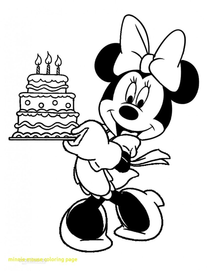 Coloring Book World ~ Stunning Mickey Mouse Coloring Book - Free Printable Minnie Mouse Coloring Pages