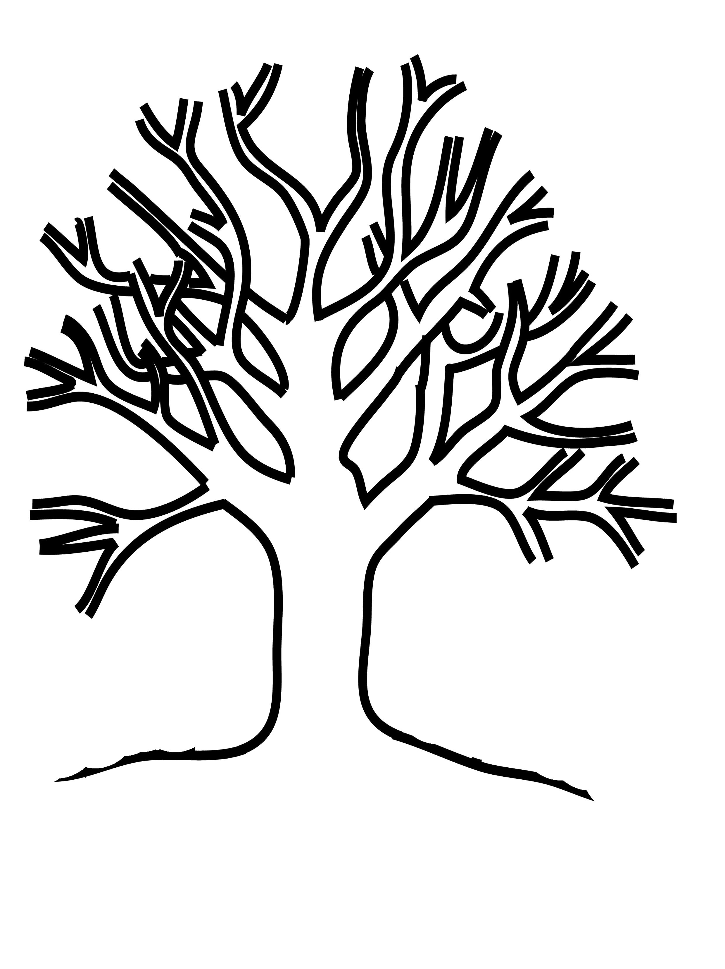 Free Bare Tree Template, Download Free Clip Art, Free Clip ...
