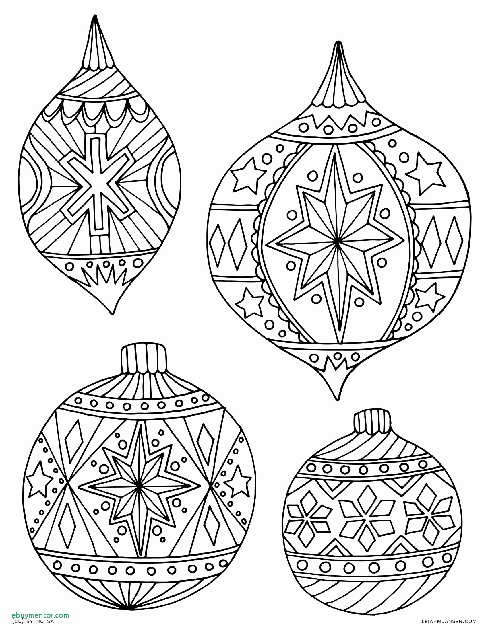 Coloring ~ Coloring Christmas Ornament Color Pages Free Printable - Free Printable Ornaments To Color