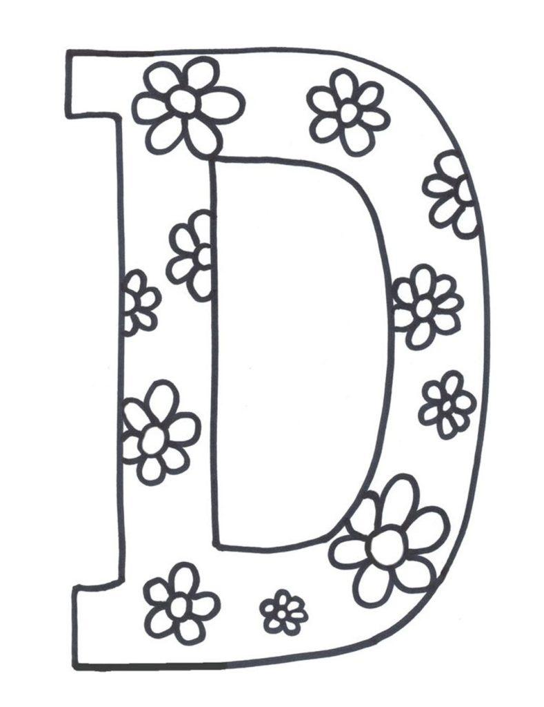 Coloring ~ Coloring Cool Pages Letter Fabulous Alphabet Letters - Free Printable Alphabet Letters To Color